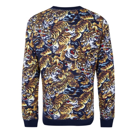 2168110c Kenzo Sweaters | Flying Tiger Pull Over Sweater Small | Poshmark